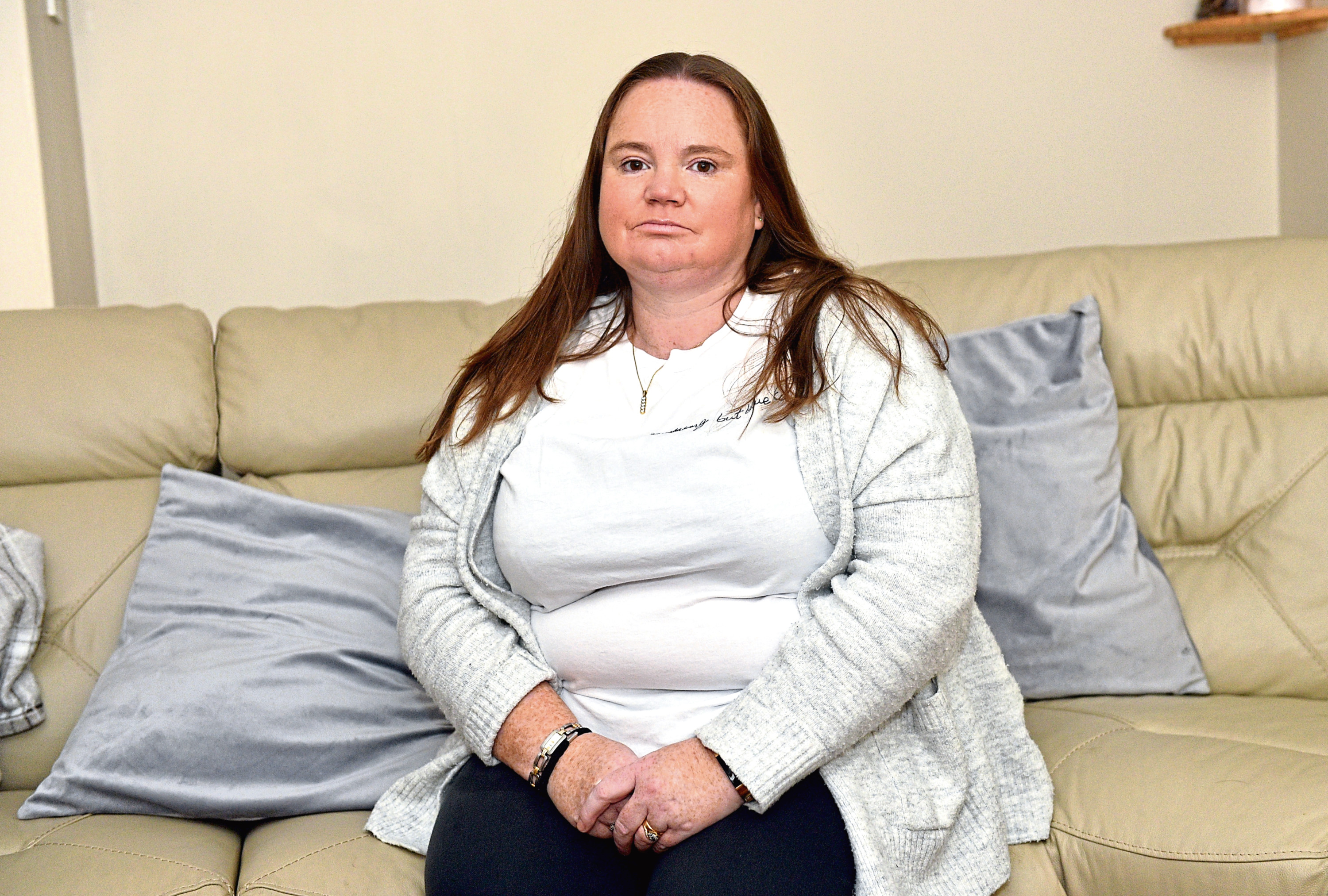 Tracey Crockett fell while at work, had an MRI and was then told she would have to wait at least 41 weeks for an operation to fix the problem