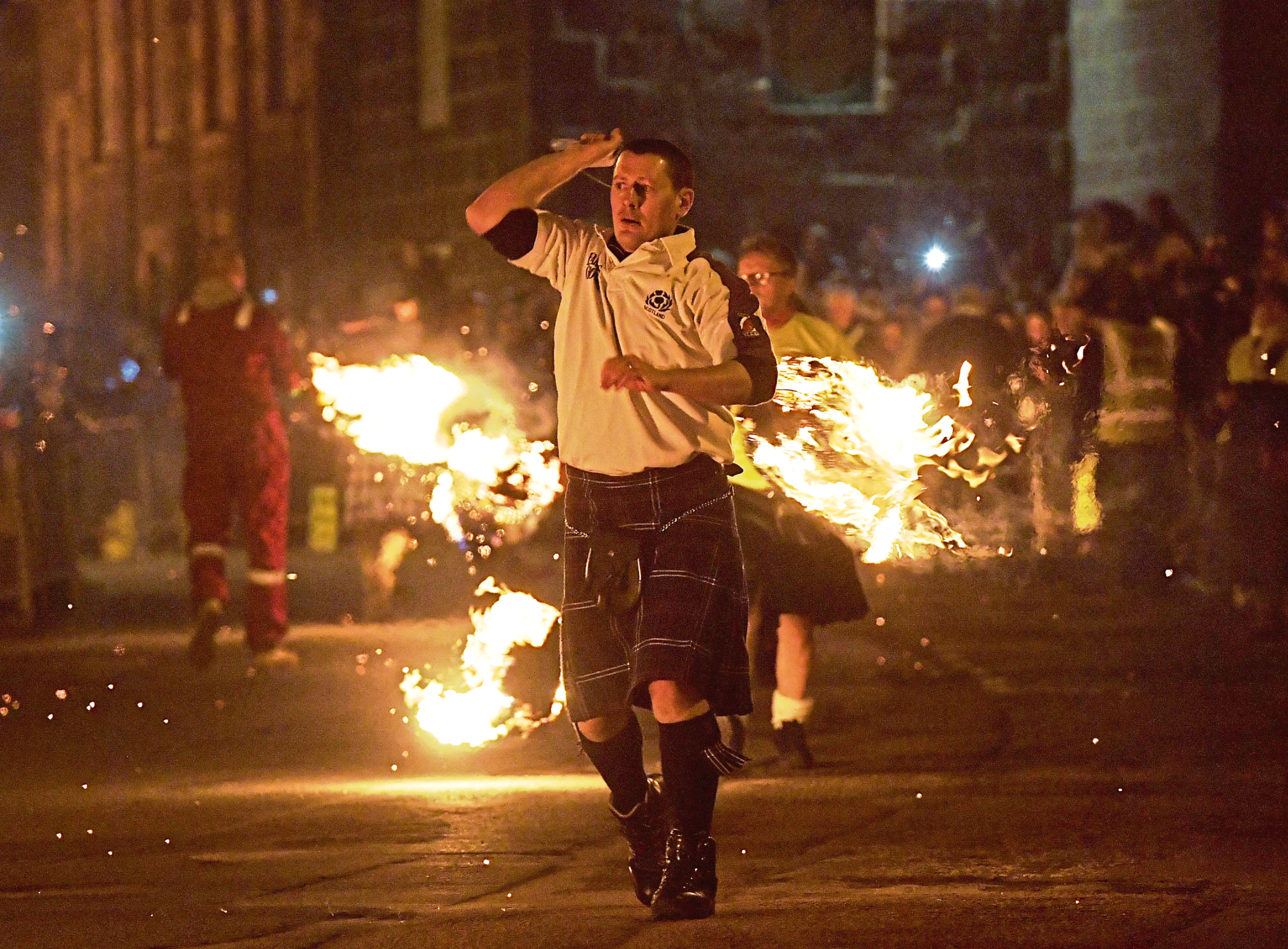The Stonehaven fireballs has been part of the town for around 150 years