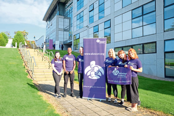 First Foot Forward is staging a fashion show for Alzheimer Scotland