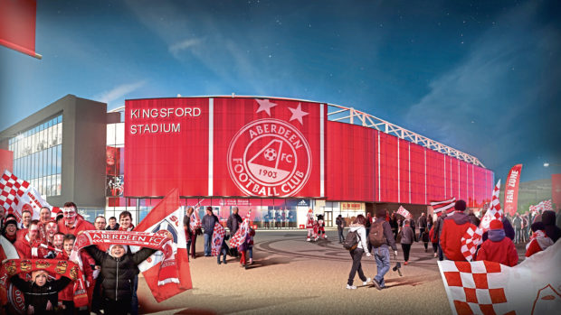 The planned new stadium at Kingsford.