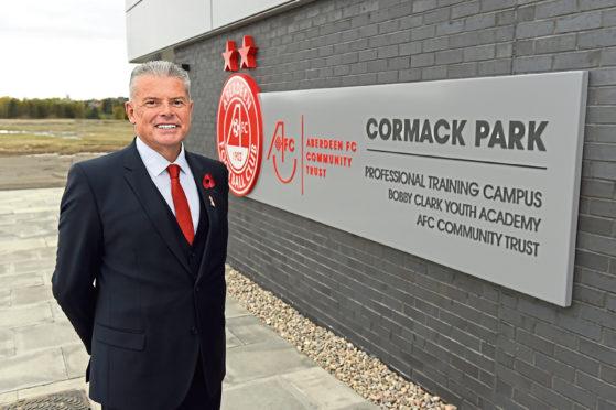 Aberdeen FC chairman Dave Cormack.
