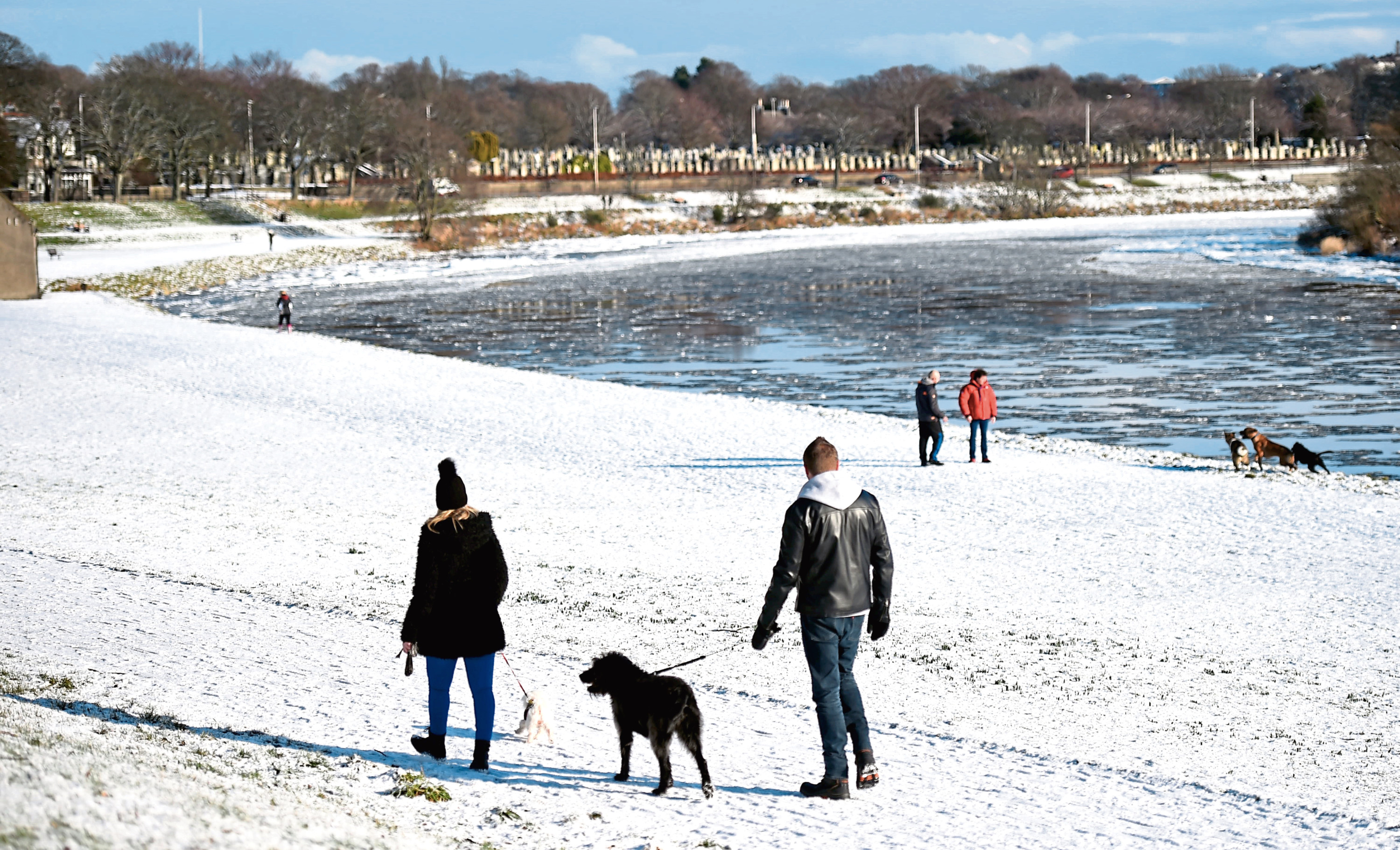 The north-east is unlikely to see scenes like these at Christmas