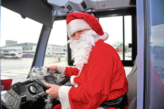 Service alterations for the festive period have been announced.