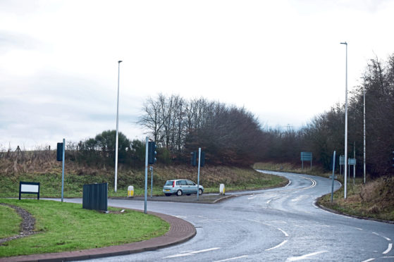 The work is intended to provide improved access and safety to Countesswells
