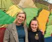 MSP Gillian Martin with winner Stella Angus