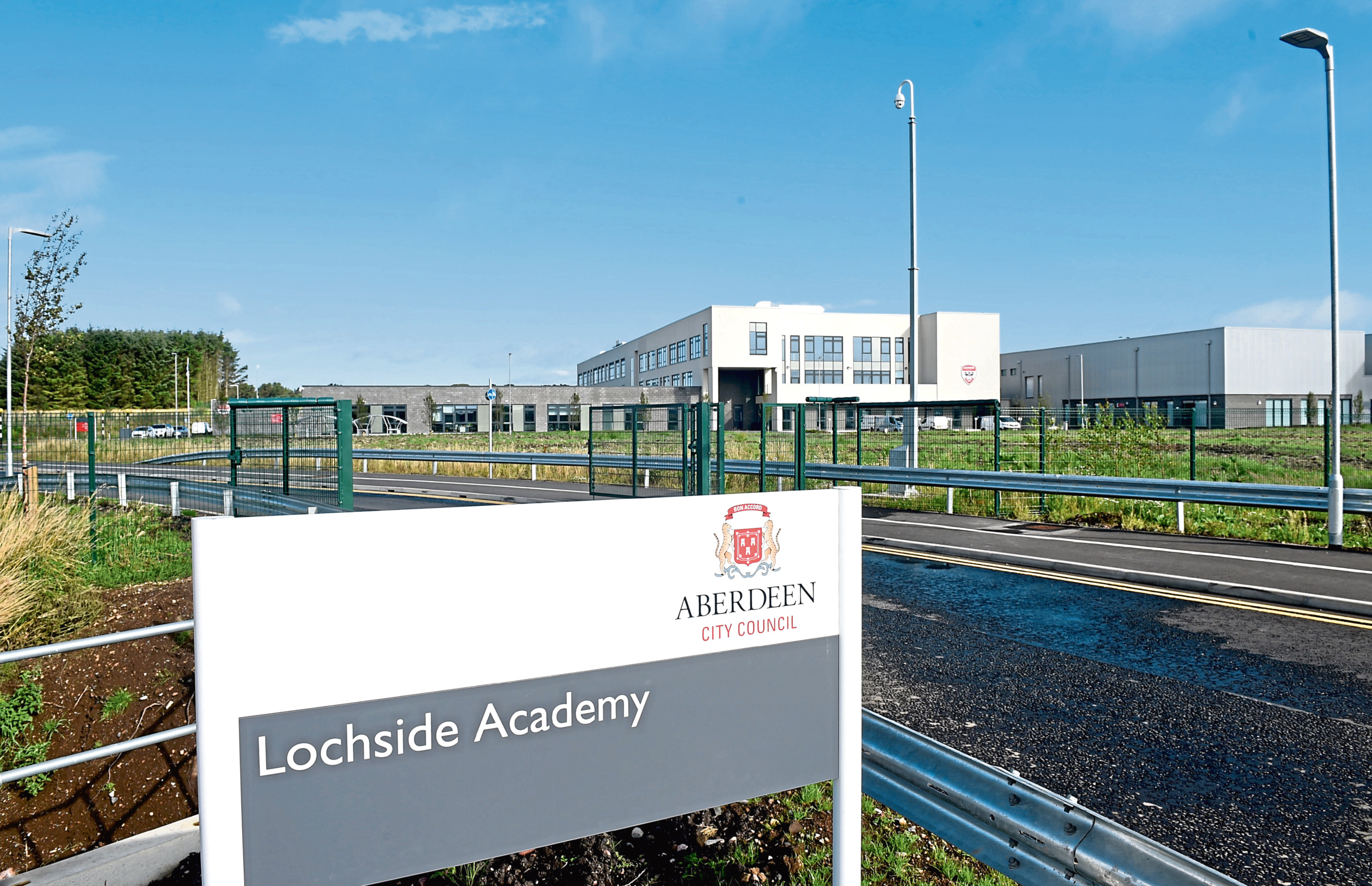 £18,500 was spent on Lochside Academy which opened a year ago