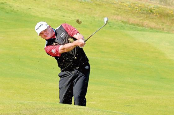 Aberdeen golfer Paul Lawrie