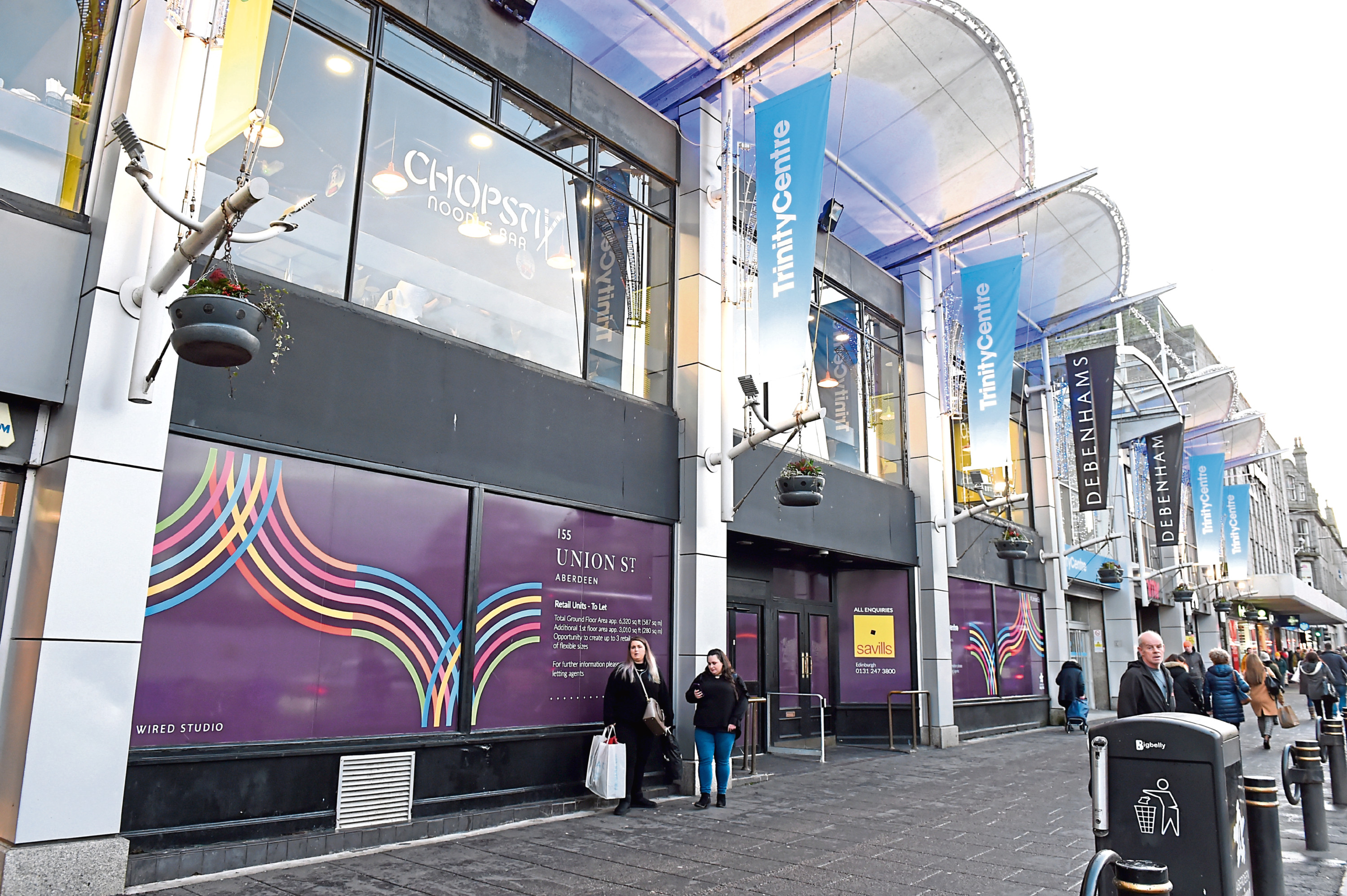 The former Waterstones store on Union Street will be transformed into a Poundland