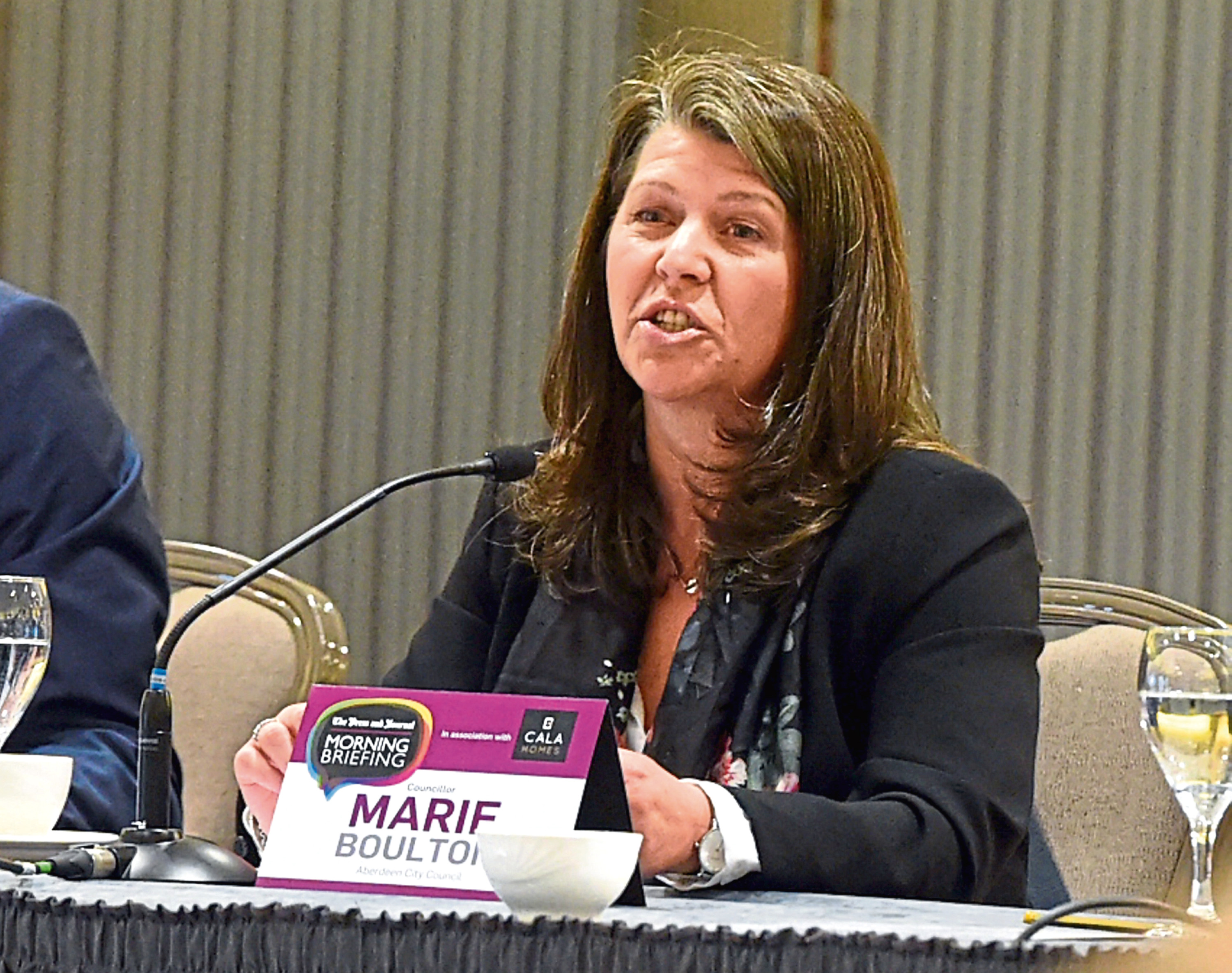 Marie Boulton has hit back after facing calls to resign