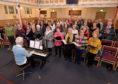 The Charlie House sing-a-long concert choir