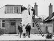 Aberdeen's 17ft snowman