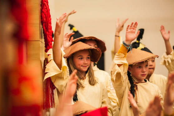 Schools from across Scotland will be involved in the performances