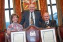 Civic Reception at Aberdeen Town Hall celebrating the Commissioning of two new Deputy Lieutenants Gillian Milne and Graham Guyan