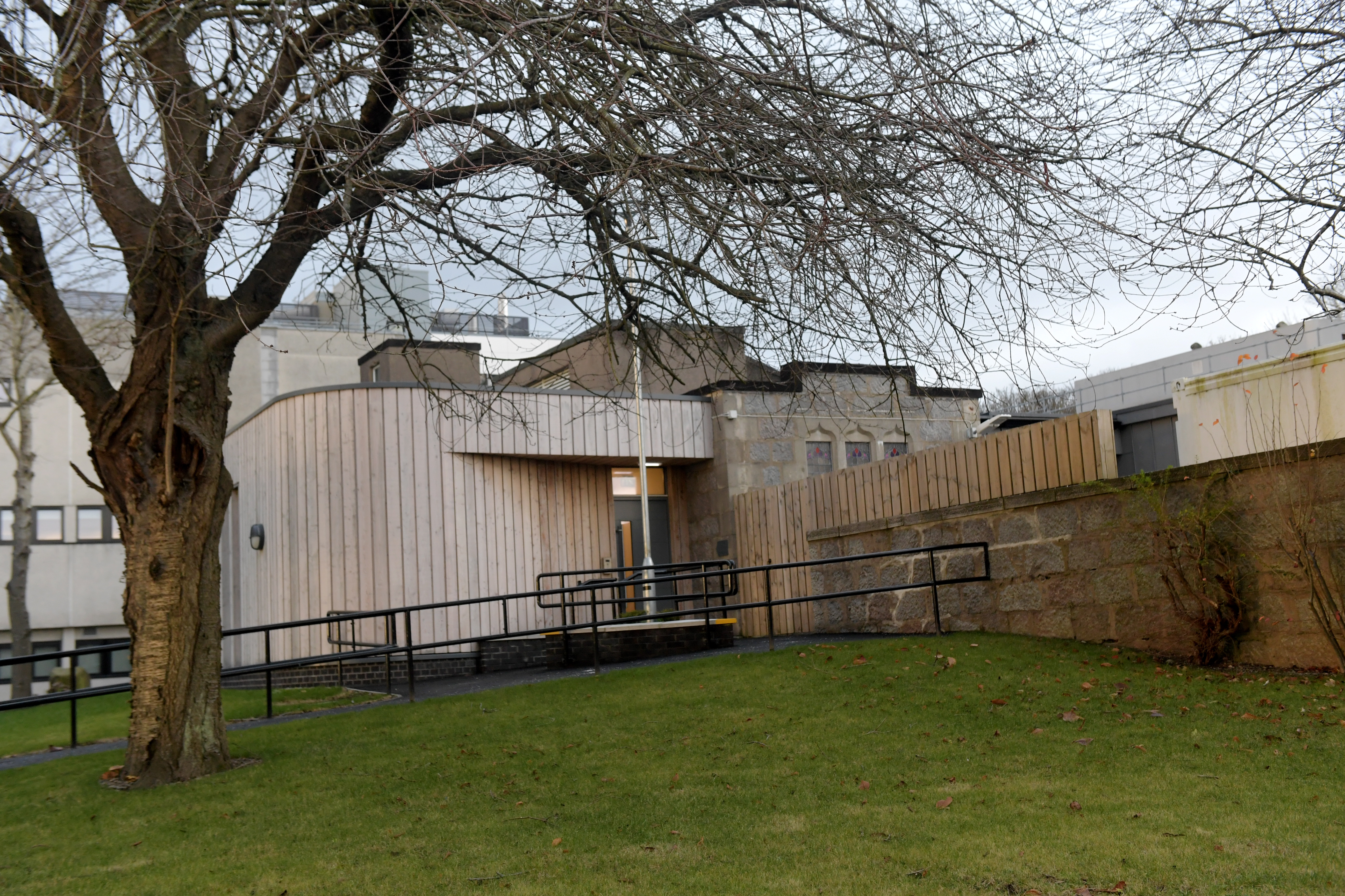 The mortuary on the Foresterhill site in Aberdeen