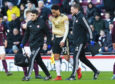 EDINBURGH, SCOTLAND - DECEMBER 29: Aberdeen's Zak Vyner Is forced off trough injury during the Ladbrokes Premiership match between Hearts and Aberdeen, at Tynecastle Park, on December 29, 2019, in Edinburgh, Scotland.