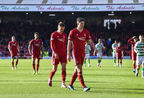 Aberdeen were criticised for not being competitive against Celtic.