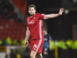 Ash Taylor during the Ladbrokes Premiership match between Aberdeen and Rangers at Pittodrie, on December 4, 2019.