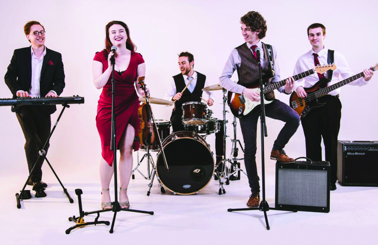 The event will feature live music from The Apollos