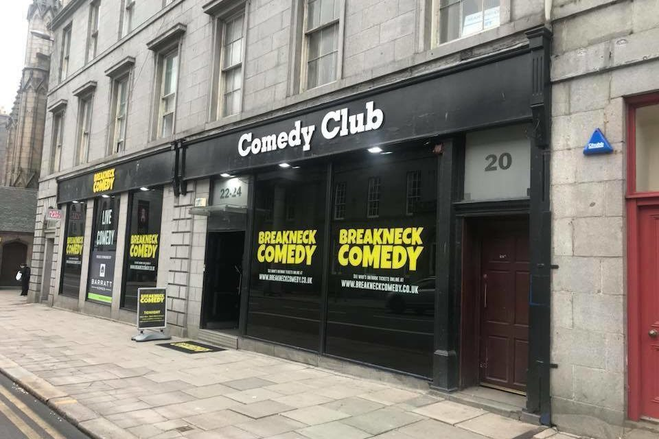 Breakneck Comedy Club