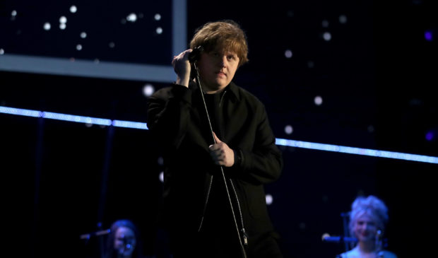Lewis Capaldi at the Sports Personality of the Year awards last night