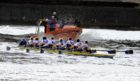 The Aberdeen Boat Race between Aberdeen University and Robert Gordon University
