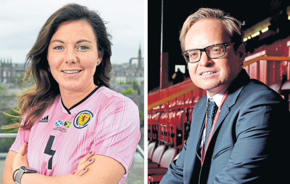Rachel Corsie and Jon S Baird are getting RGU honorary degrees