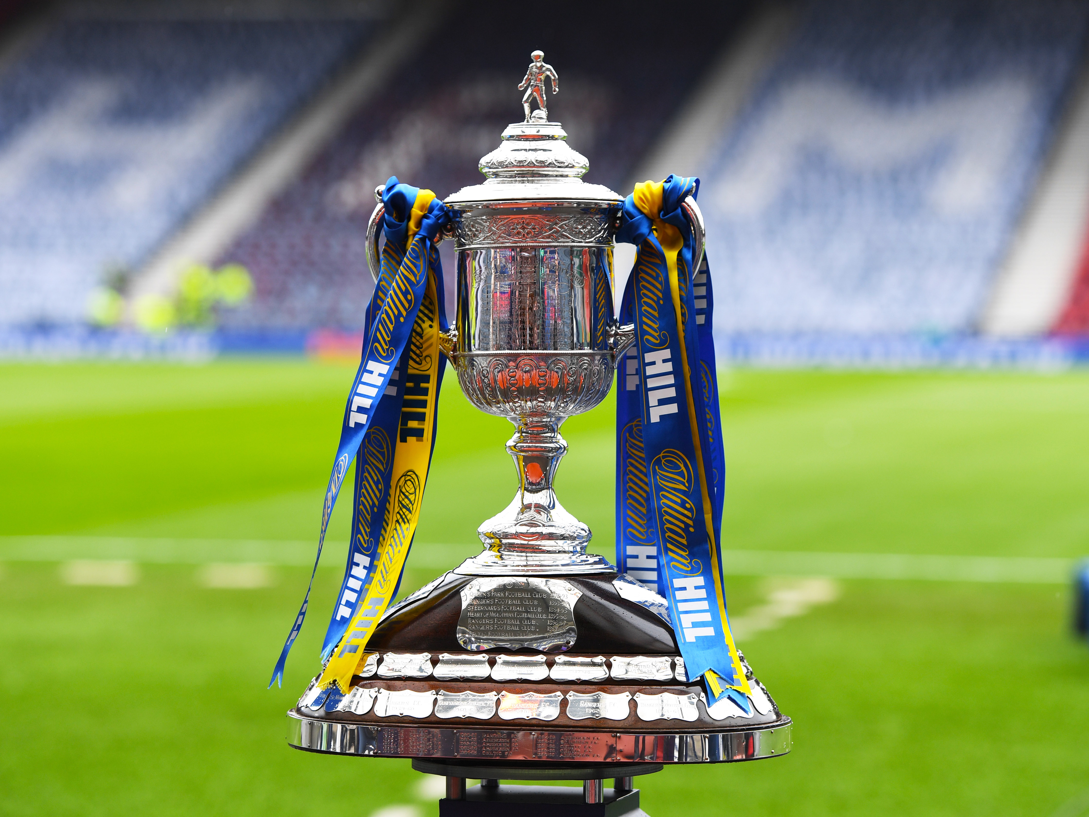 The Scottish Cup trophy