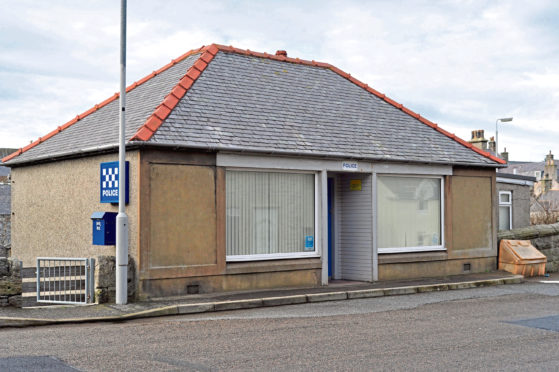 Portsoy Police Station was among those deemed surplus in 2017