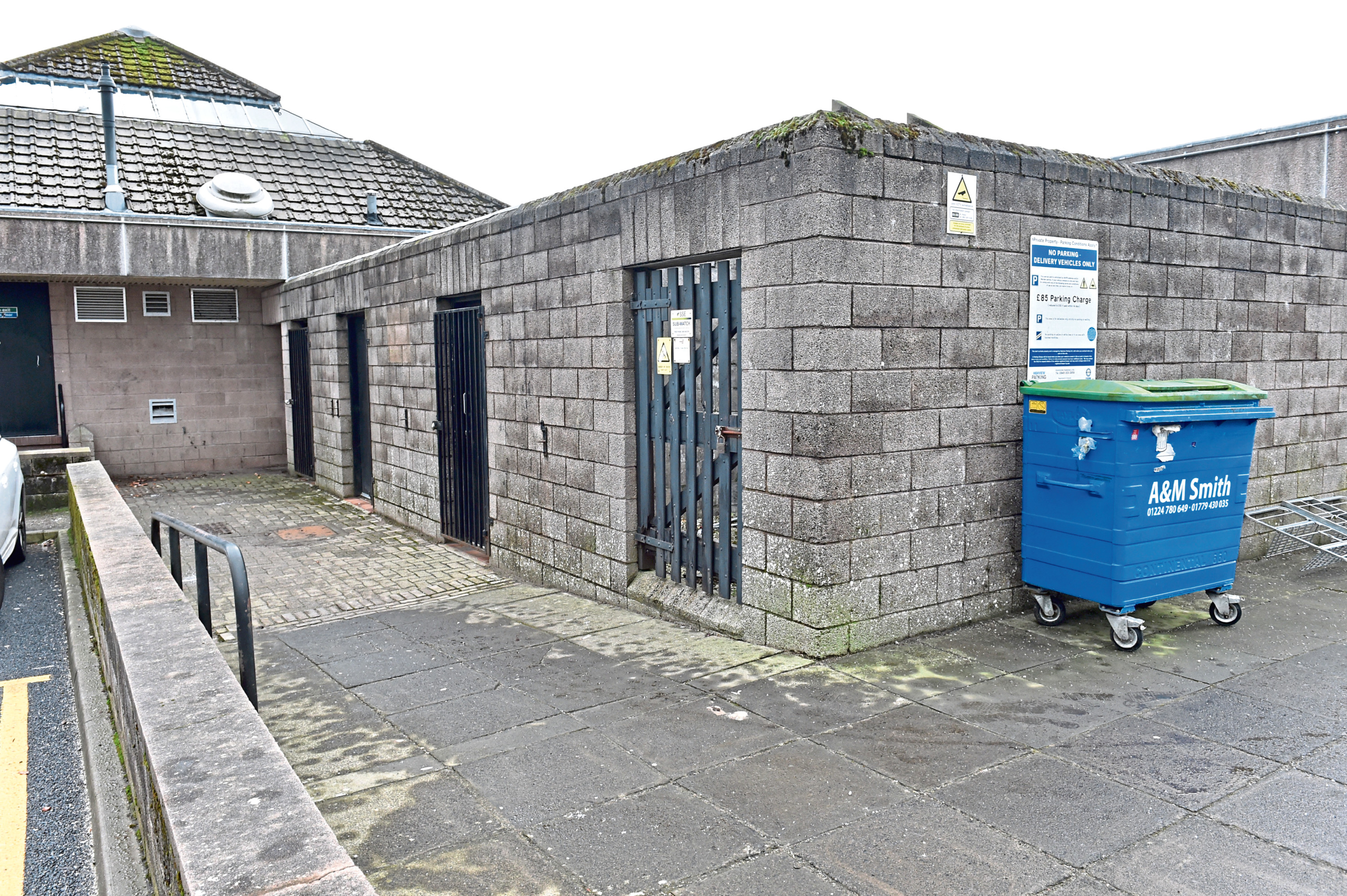 The facilities to the rear of Westhill Shopping Mall could close