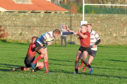 Premiership side Aberdeen Grammar in action. Picture by Paul Glendell