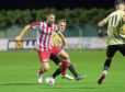 Formartine's Stuart Anderson. Picture by Kath Flannery