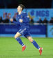Declan Glass during his loan spell with Cove Rangers