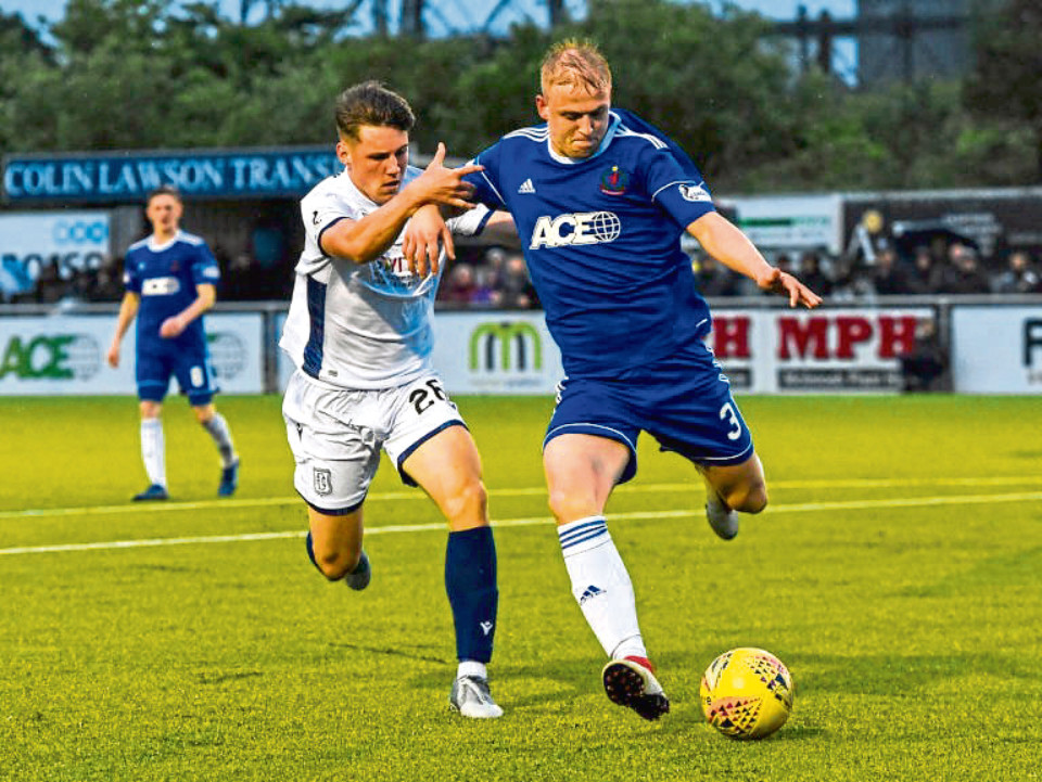 Cove will also meet Dundee again.