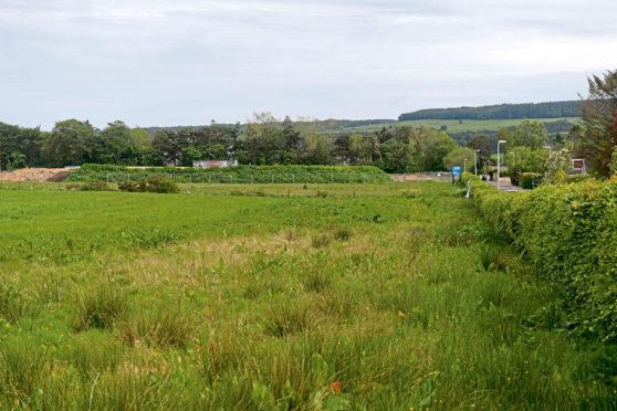 The land near Milltimber