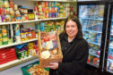 Development worker Claire Whyte at Woodside Pantry. Picture by Kenny Elrick