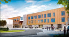 Artist's impressions of Inverurie Community Campus to be built on the site of the current Inverurie Academy