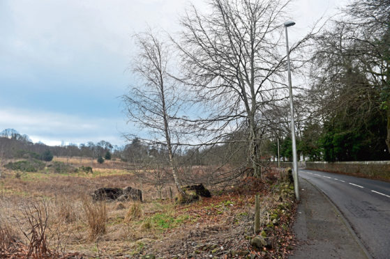 The retirement village would be built on land near Inchgarth Road