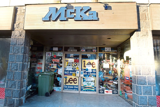 McKay's has sold off the last of its stock