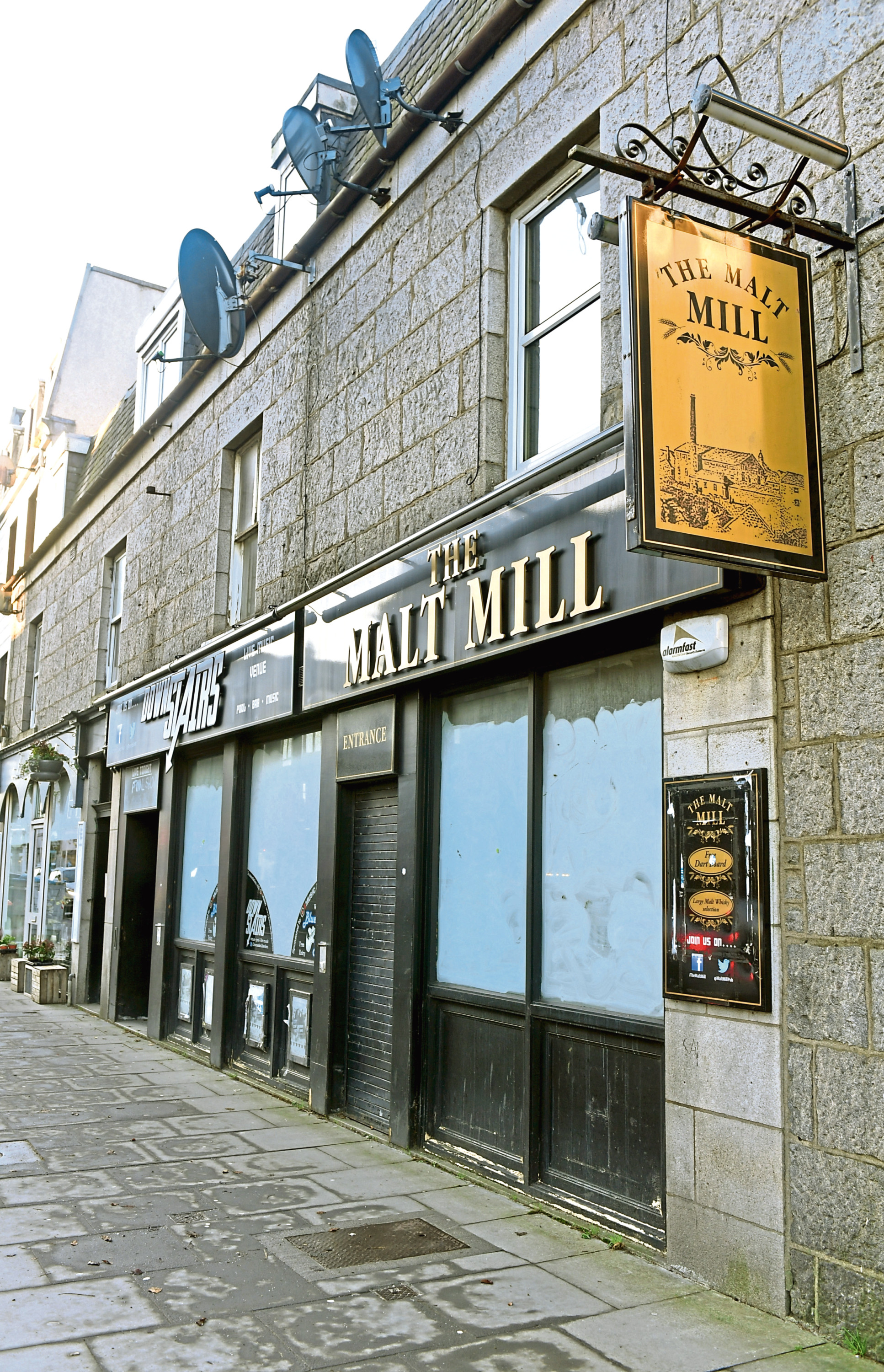 There is a new planning application in to turn the Malt Mill into a wine bar/private members club.
