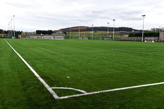 We don't know when football will resume or when Aberdeen will be able to return to their Cormack Park training ground.