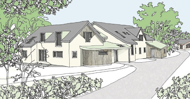 An artist impression of the planned redevelopment