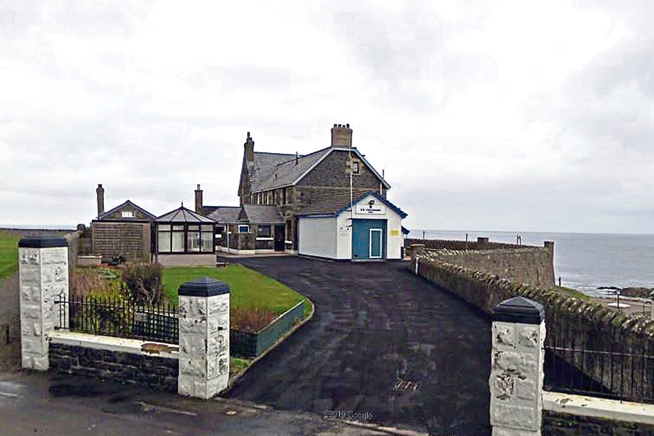 The current Coastguard station in Banff