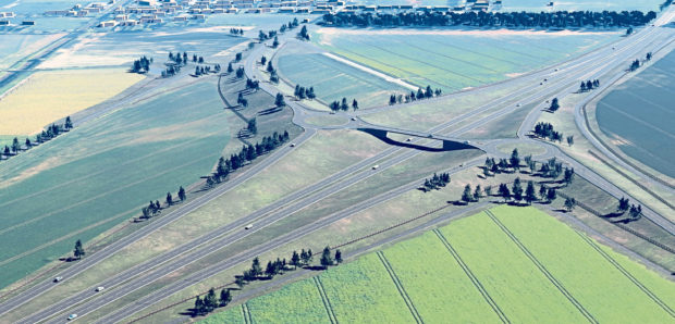 Just four objections have been lodged against plans for the new junction at Laurencekirk