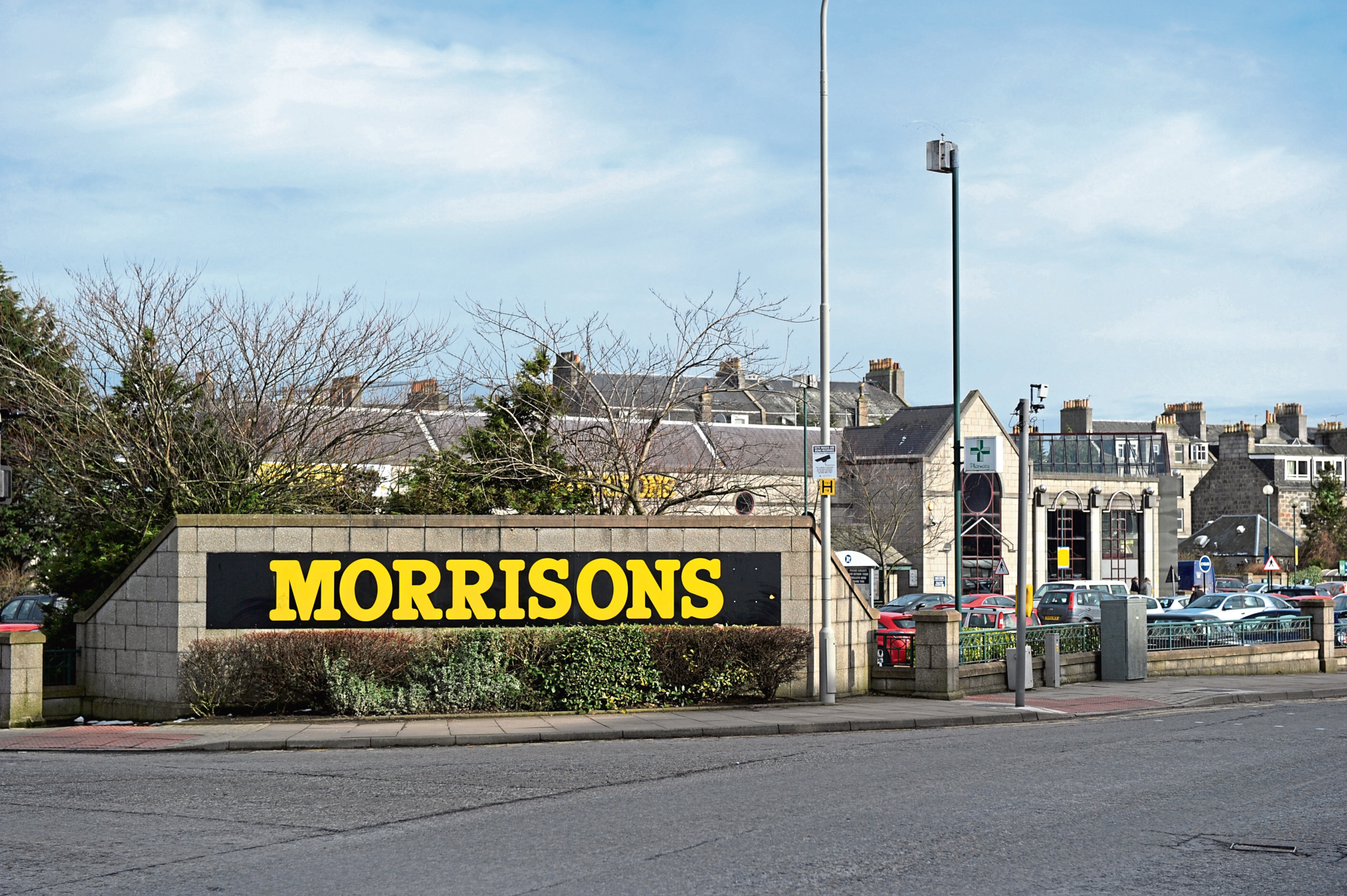 The incident happened in Morrisons car park.