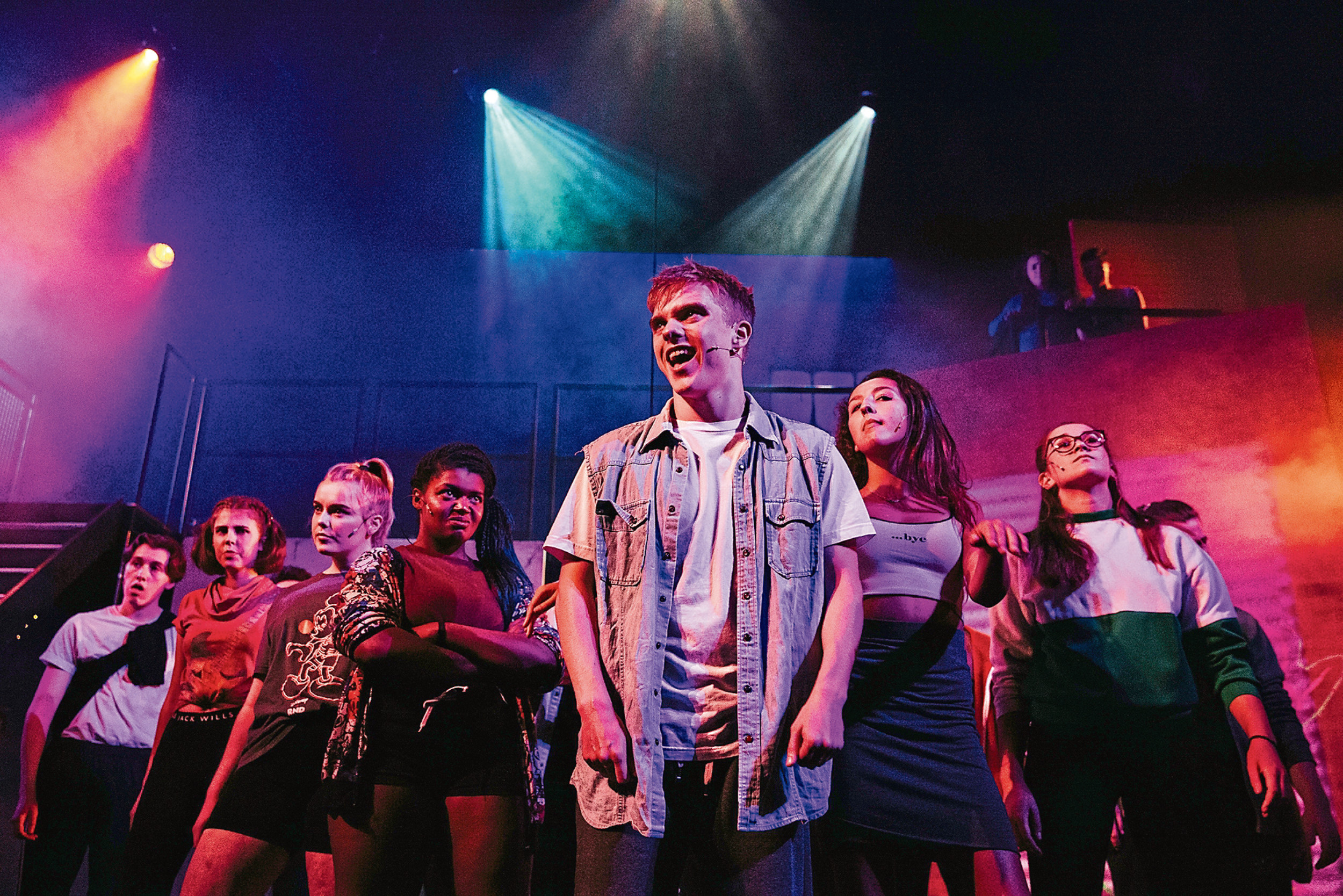 Edan Glennie in BYMT's production Fight Like A Girl