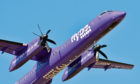 The incident involved a Flybe aircraft