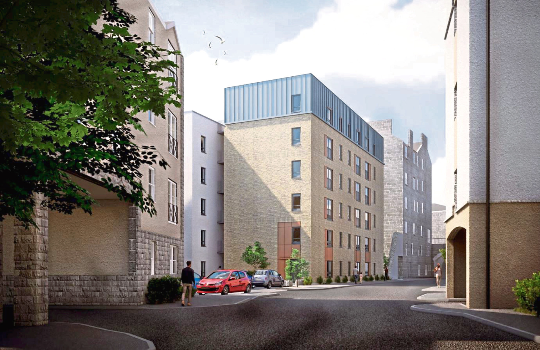 An artist impression of the planned development at Union Glen