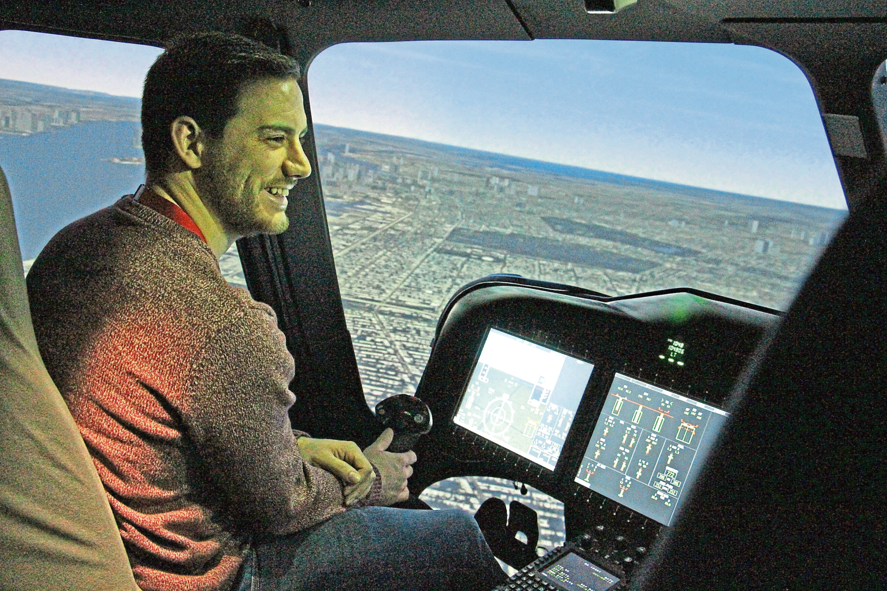 A HELICOPTER operator has raised thousands for charity by donating flight simulator tickets. Bristow Helicopters offered 40 flight experiences to members of the public, with all proceeds going to a number of charities here in the north-east.  The firm's training hall at Dyce, which has four helicopter simulators, is normally reserved only for trainees and helicopter pilots.