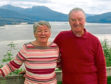 Mary Allan, 83, was killed when hit by a lorry outside the TSB bank on King Street in Aberdeen in September 2018