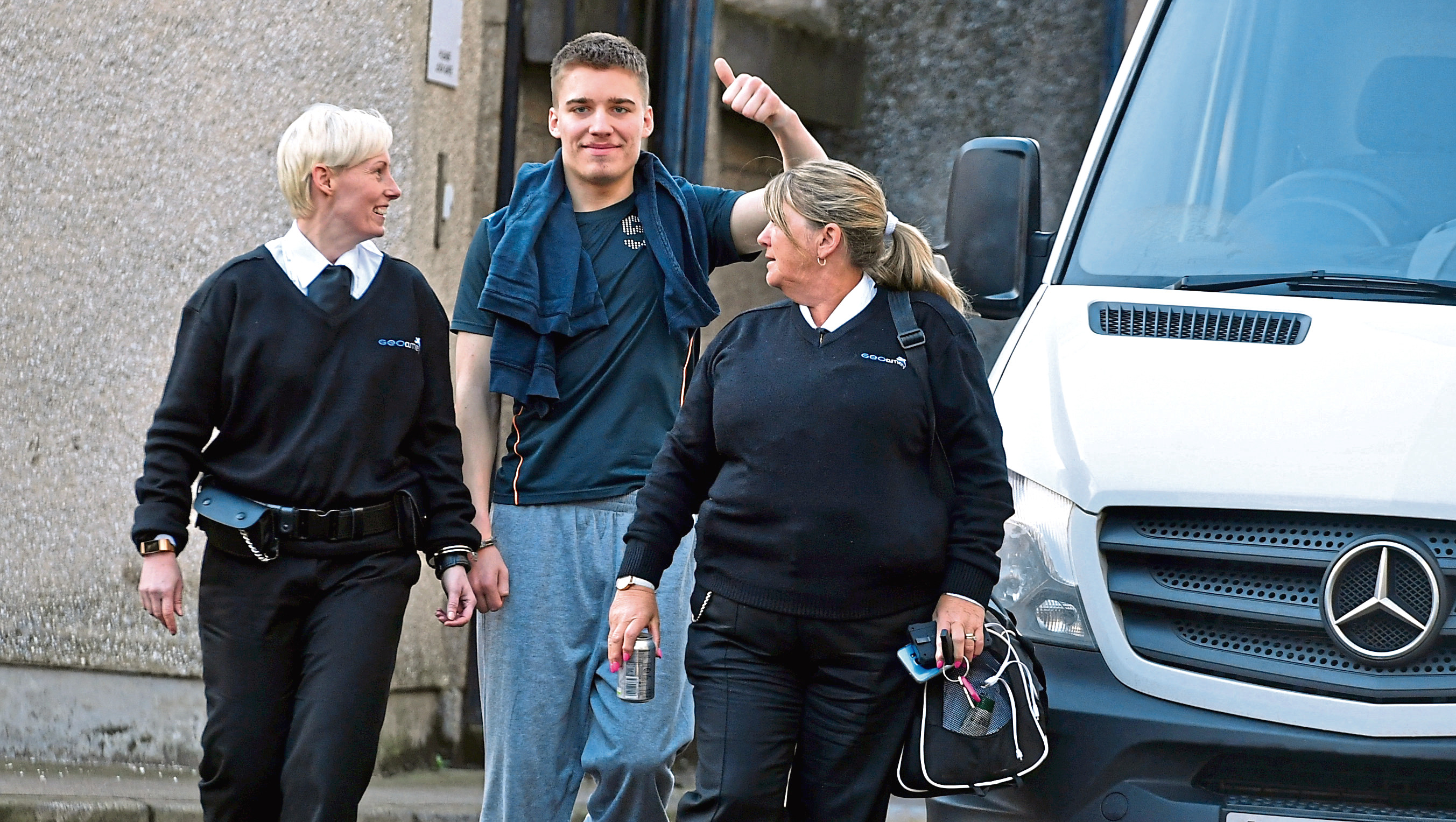 Maciej Adamski pled guilty to the two assaults.